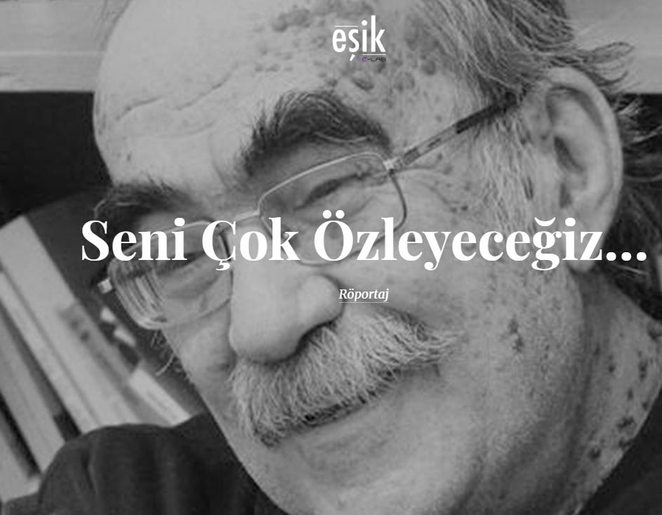 Celil Oker söyleşisinin kapağı